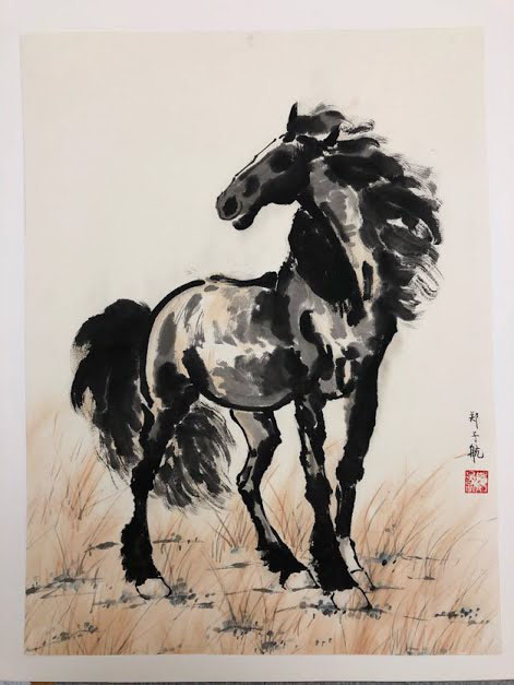 Stanley's painting of a horse
