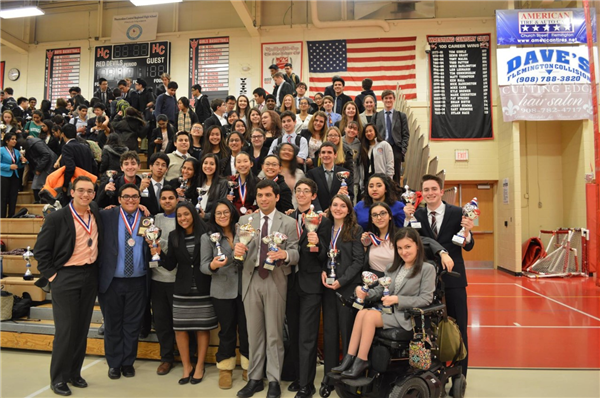 FTHS Speech and Debate Team at the state championship