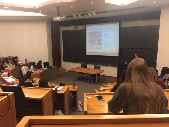 Students attended lectures at Princeton University