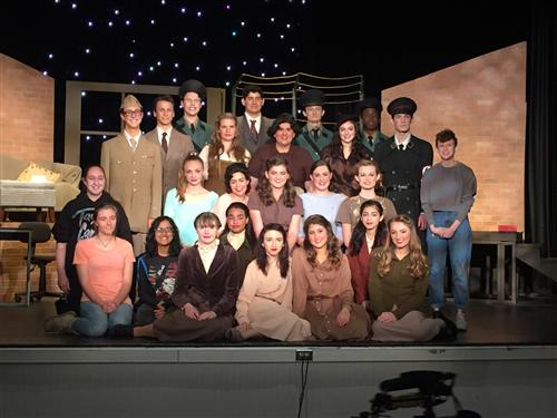 """Cast and crew of """"Letters to Sala"""""""