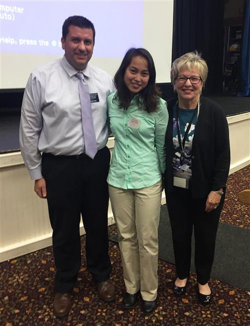 Freehold High School Welcomes Back 2014 Valedictorian Liezl Puzon