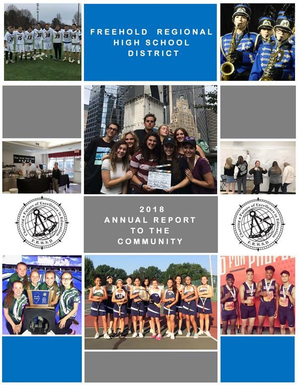 annual report cover page
