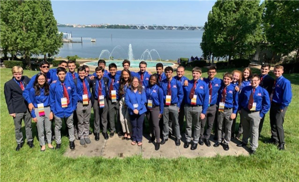 Howell students at national TSA