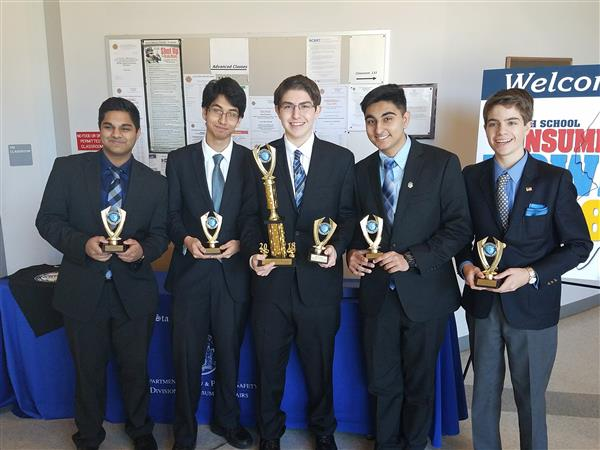 Freehold Township's Consumer Bowl Team