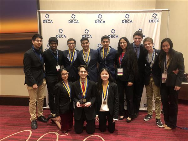 Freehold Township's DECA Chapter
