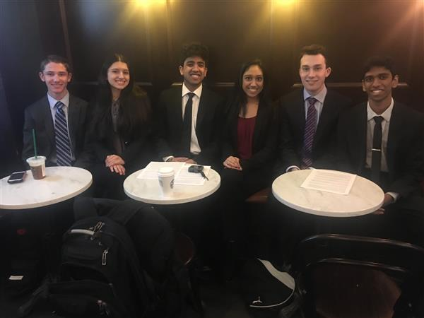 Business Administration Students Participate in High School Fed Challenge