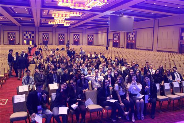Freehold's DECA chapter