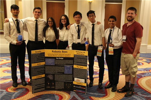 Manalapan's TSA students won several accolades at national conference