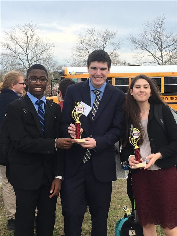 FTHS Student winners