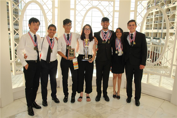 Manalapan High School's TSA students won several accolades at national conference