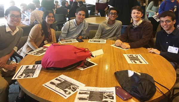 Science & Engineering Magnet Program Students Visit Nokia Bell Labs
