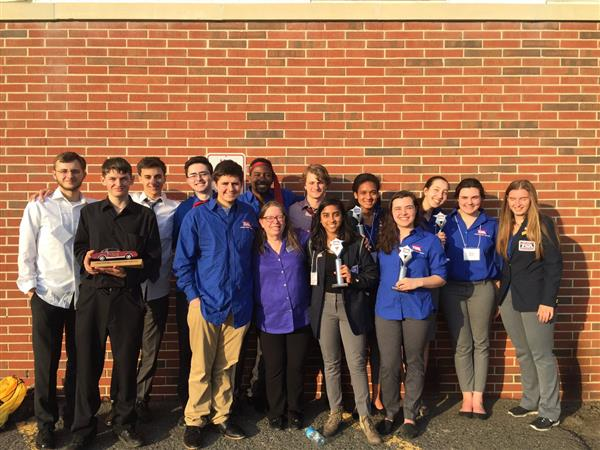 Howell TSA Award winners