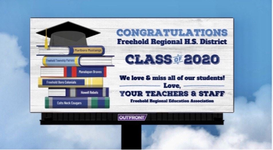 Billboard to students