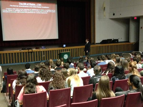 LPS students learn about the 14th Amendment