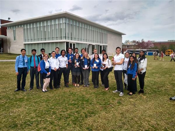 Colts Neck's TSA group at states