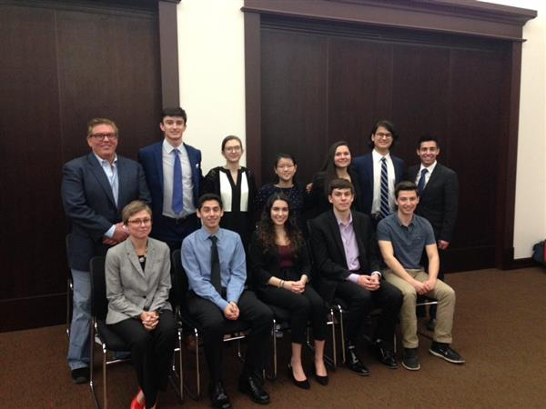 Colts Neck's Mock Trial Team