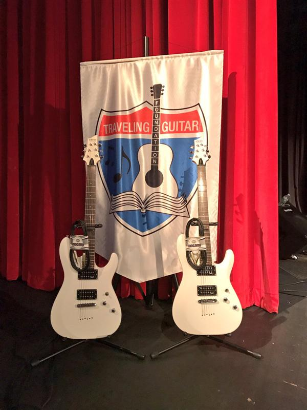 MNHS Receives Musical Donation from the Traveling Guitar Foundation