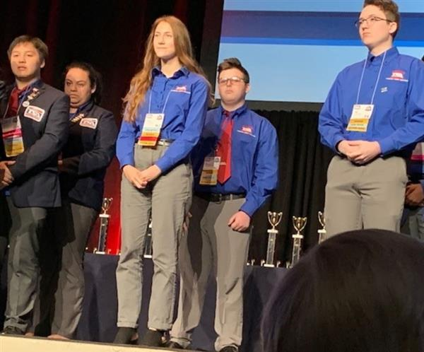 HHS Technology Students Successful At 2019 National TSA