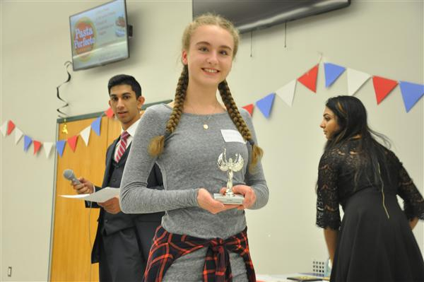 Howell students participate in the French language tournament